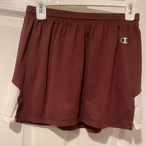 Champion Authentic Athletic Stretch Skirt Maroon